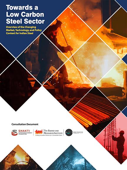 Towards aLow CarbonSteel Sector