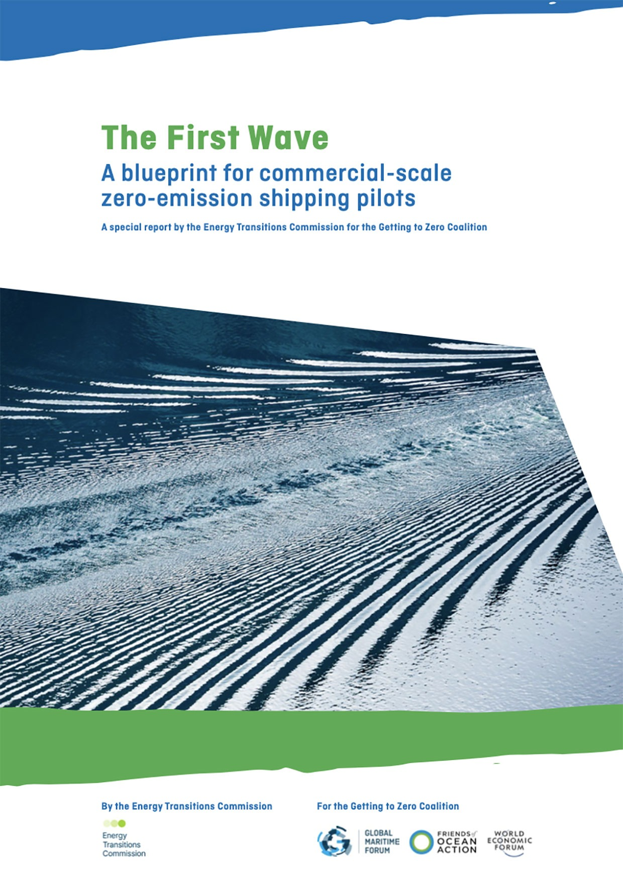 The First Wave – A blueprint for commercial-scale zero-emission shipping pilots